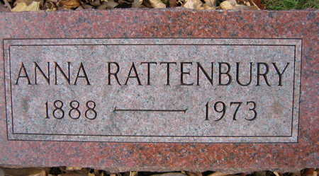RATTENBURY, ANNA - Linn County, Iowa | ANNA RATTENBURY