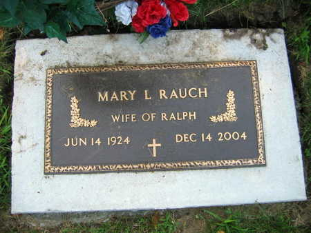 RAUCH, MARY L. - Linn County, Iowa | MARY L. RAUCH