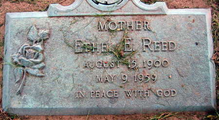 REED, ETHEL E. - Linn County, Iowa | ETHEL E. REED