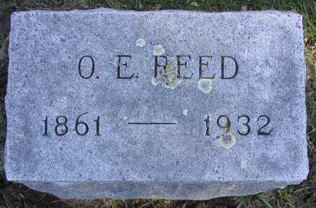 REED, O. E. - Linn County, Iowa | O. E. REED