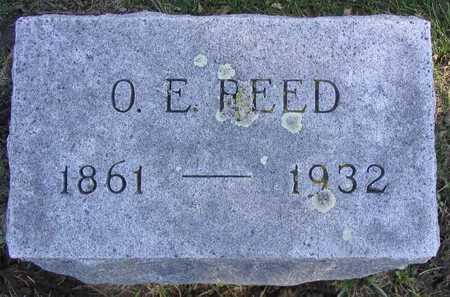 REED, O. E. - Linn County, Iowa | O. E. REED
