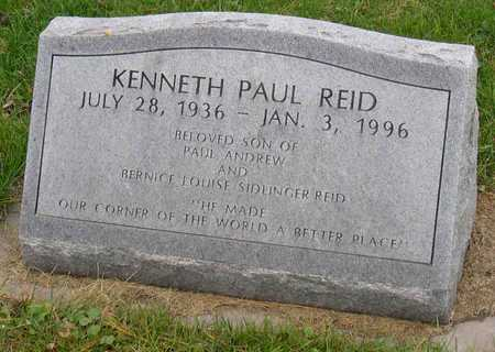 REID, KENNETH PAUL - Linn County, Iowa | KENNETH PAUL REID