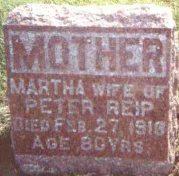 REIP, MARTHA - Linn County, Iowa | MARTHA REIP