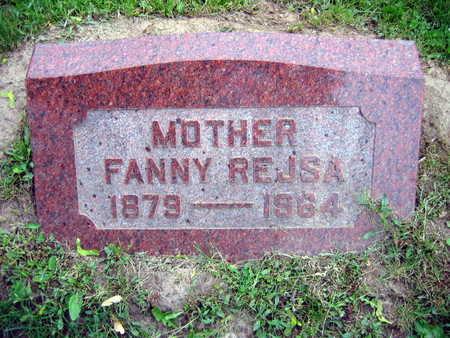 REJSA, FANNY - Linn County, Iowa   FANNY REJSA