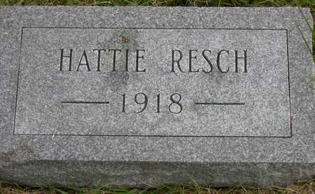 RESCH, HATTIE - Linn County, Iowa | HATTIE RESCH