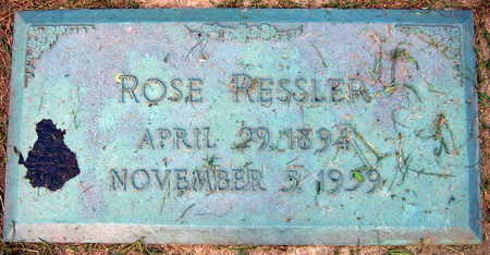 RESSLER, ROSE - Linn County, Iowa | ROSE RESSLER