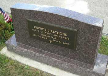 REYHONS, GEORGE J. - Linn County, Iowa | GEORGE J. REYHONS