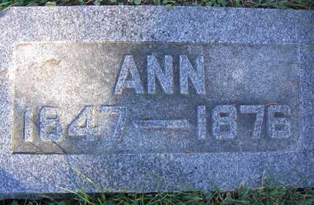 RICH, ANN - Linn County, Iowa | ANN RICH