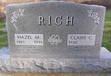 RICH, HAZEL M. - Linn County, Iowa | HAZEL M. RICH