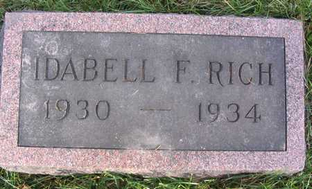 RICH, IDABELL F. - Linn County, Iowa | IDABELL F. RICH