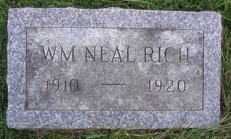 RICH, WM. NEAL - Linn County, Iowa | WM. NEAL RICH