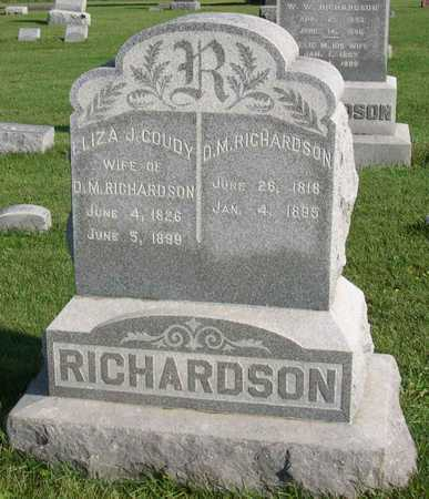 RICHARDSON, ELIZA J. - Linn County, Iowa | ELIZA J. RICHARDSON