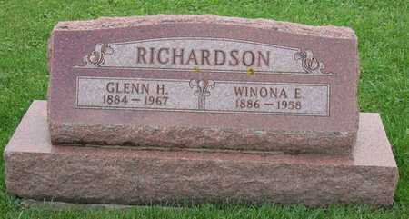 RICHARDSON, GLENN H. - Linn County, Iowa | GLENN H. RICHARDSON