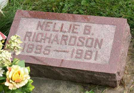 RICHARDSON, NELLIE B. - Linn County, Iowa | NELLIE B. RICHARDSON