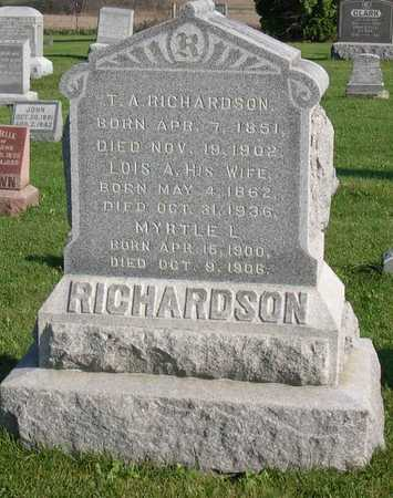 RICHARDSON, T. A. - Linn County, Iowa | T. A. RICHARDSON