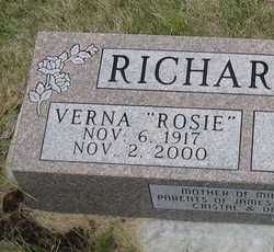 RICHARDSON, VERNA