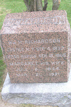 RICHARDSON, MARGARET - Linn County, Iowa | MARGARET RICHARDSON