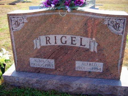 RIGEL, ALBIA A. - Linn County, Iowa | ALBIA A. RIGEL