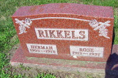 RIKKELS, ROSE - Linn County, Iowa | ROSE RIKKELS