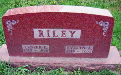 RILEY, EVELYN A. - Linn County, Iowa | EVELYN A. RILEY