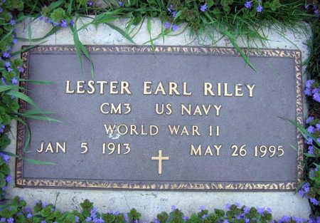 RILEY, LESTER EARL - Linn County, Iowa | LESTER EARL RILEY