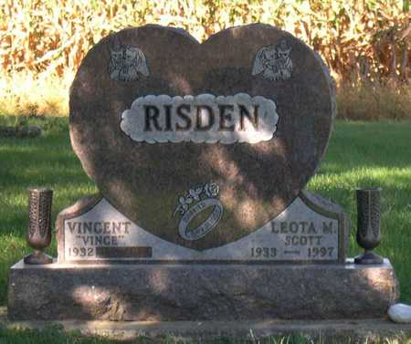 SCOTT RISDEN, LEOTA M. - Linn County, Iowa | LEOTA M. SCOTT RISDEN