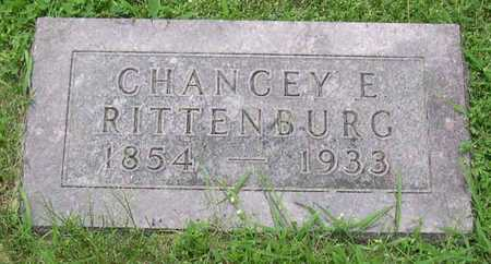 RITTENBURG, CHANCEY E. - Linn County, Iowa | CHANCEY E. RITTENBURG