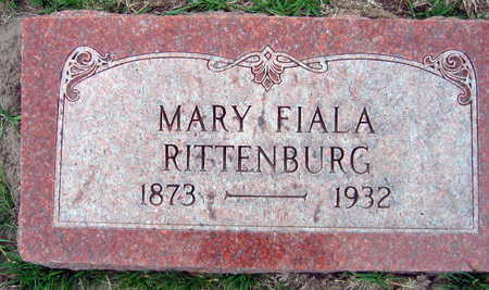 FIALA RITTENBURG, MARY - Linn County, Iowa | MARY FIALA RITTENBURG