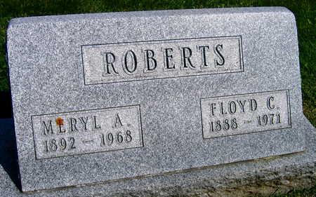 ROBERTS, FLOYD C. - Linn County, Iowa | FLOYD C. ROBERTS