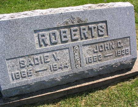 ROBERTS, SADIE V. - Linn County, Iowa | SADIE V. ROBERTS