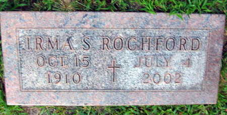 ROCHFORD, IRMA S. - Linn County, Iowa | IRMA S. ROCHFORD