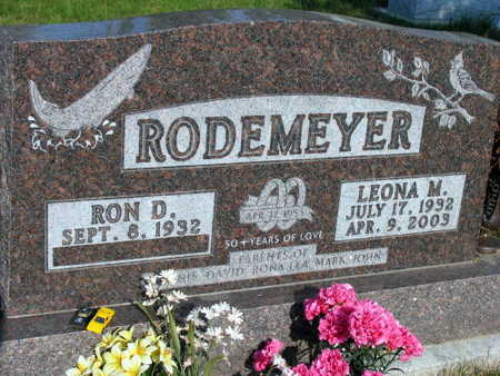 RODEMEYER, LEONA M. - Linn County, Iowa | LEONA M. RODEMEYER