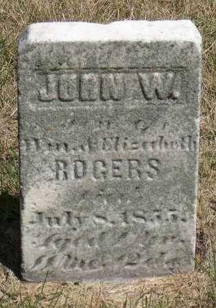 ROGERS, JOHN W. - Linn County, Iowa | JOHN W. ROGERS