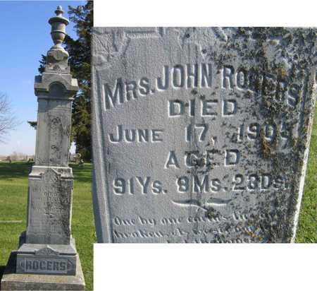 ROGERS, MRS. JOHN - Linn County, Iowa | MRS. JOHN ROGERS
