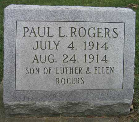 ROGERS, PAUL L. - Linn County, Iowa | PAUL L. ROGERS