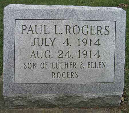 ROGERS, PAUL L. - Linn County, Iowa | PAUL L. ROGERS