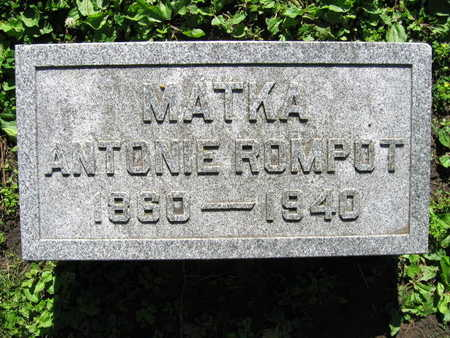 ROMPOT, ANTONIE - Linn County, Iowa | ANTONIE ROMPOT