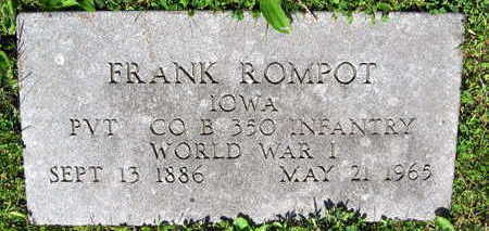 ROMPOT, FRANK - Linn County, Iowa | FRANK ROMPOT