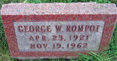 ROMPOT, GEORGE W. - Linn County, Iowa | GEORGE W. ROMPOT