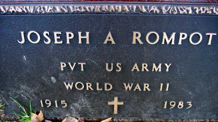 ROMPOT, JOSEPH A. - Linn County, Iowa | JOSEPH A. ROMPOT