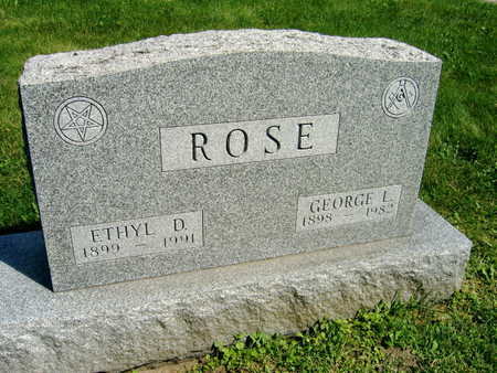 ROSE, GEORGE L. - Linn County, Iowa | GEORGE L. ROSE