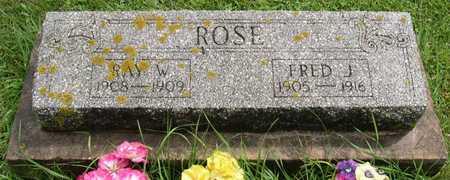 ROSE, RAY W. - Linn County, Iowa | RAY W. ROSE