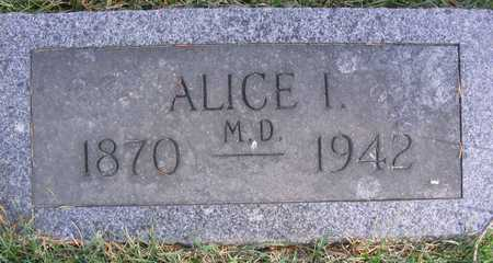ROSS, ALICE I. - Linn County, Iowa | ALICE I. ROSS