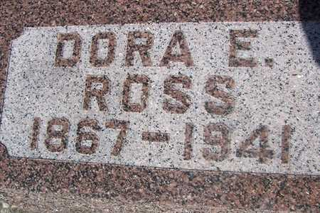ROSS, DORA E. - Linn County, Iowa | DORA E. ROSS