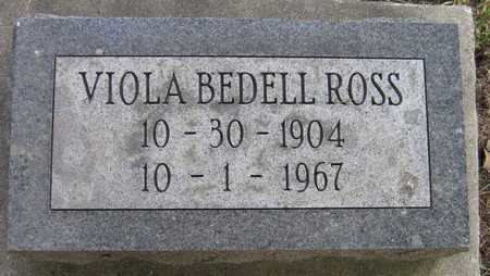 BEDELL ROSS, VIOLA - Linn County, Iowa | VIOLA BEDELL ROSS