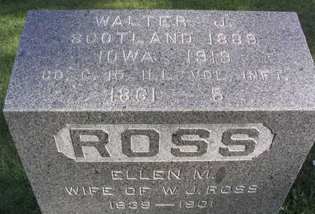 ROSS, ELLEN M. - Linn County, Iowa | ELLEN M. ROSS