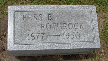 ROTHROCK, BESS B. - Linn County, Iowa | BESS B. ROTHROCK