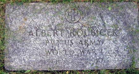 ROUBICEK, ALBERT - Linn County, Iowa | ALBERT ROUBICEK