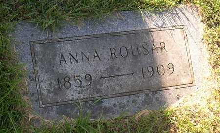 ROUSAR, ANNA - Linn County, Iowa | ANNA ROUSAR