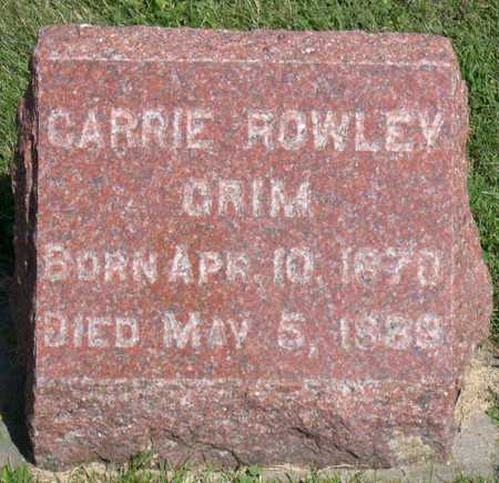 ROWLEY, CARRIE - Linn County, Iowa | CARRIE ROWLEY